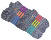 adidas 6 Pack Youth Super Light No Show Socks