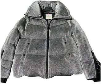 Moncler Silver Jacket for Women