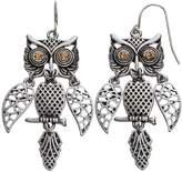 Mudd Owl Drop Earrings