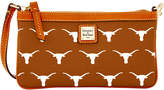 Dooney & Bourke Texas Longhorns Large Wristlet