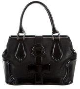 Balenciaga Leather Frame Shoulder Bag