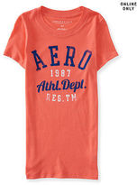 Aeropostale Womens Aero Athletic 1987 Graphic T Shirt