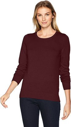 Amazon Essentials Women's Classic Fit Lightweight Long-Sleeve Crewneck Sweater