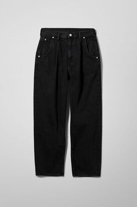Weekday Fold Pleat Jeans - Blue