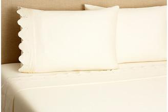 Belle Epoque Scallop Sheet Set - Ivory Full