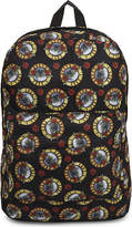 Rock Sax Guns 'n' Roses Print Backpack