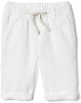 Gap Linen-blend pull-on pants