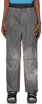 Off-White Off White Grey Fence Extended Chino Trousers