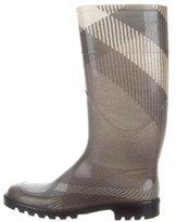 Burberry Nova Check Rain Boots