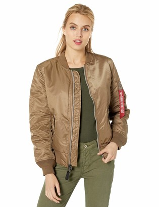 Alpha Industries Women's MA-1 Laced Flight Jacket W