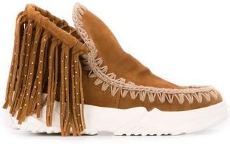 Mou fringed Eskimo sneakers