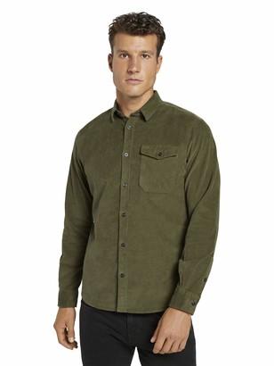 Tom Tailor Men's Casual Cord Shirt