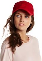 Natasha Accessories Faux Suede Baseball Cap