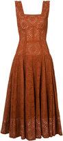 Derek Lam broderie anglaise dress - women - Silk/Cotton - 36