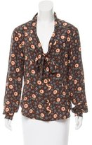Moschino Cheap & Chic Moschino Cheap and Chic Printed Silk Top