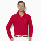 Polo Ralph Lauren Custom Fit Cotton Mesh Polo