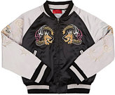 Haus of JR Embroidered Bomber Jacket