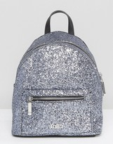 Faith Metallic Mini Backpack