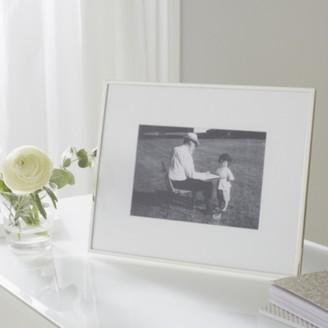 "The White Company Fine Silver Photo Frame 5x7"", Silver, One Size"