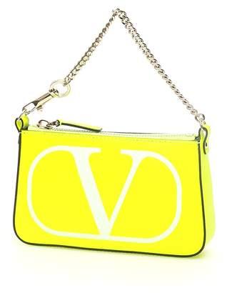 Valentino VLogo Chain Pouch