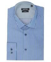 Remus Contrast Trim Stripe Shirt