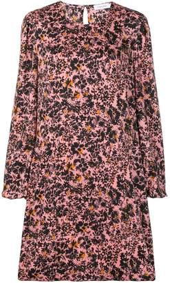 Calvin Klein floral print shift dress