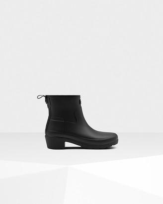 Hunter Women's Refined Slim Fit Low Heel Ankle Boots