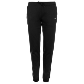 L.A. Gear Womens Closed Hem Jog Pants Ladies Sport Running Jogging Bottoms Joggers Black 18 (XXL)