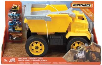 Mattel Matchbox Sand Truck