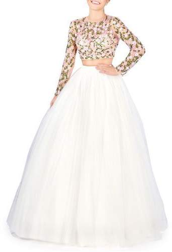 388d449ded White Tulle Skirt - ShopStyle