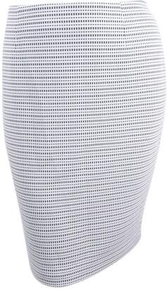 Kasper Women's Plus Size Stripe Knit Jacquard Skirt