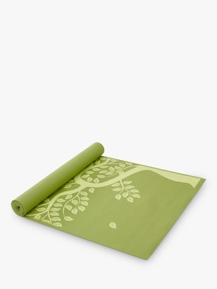 Gaiam Tree Of Life 3mm Yoga Mat, Green