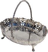 One Kings Lane Vintage English Sterling Silver Basket, 1877