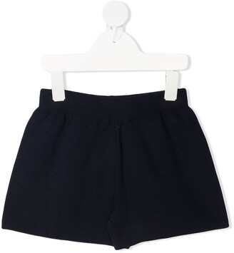 Il Gufo Slim-Fit Knit Shorts