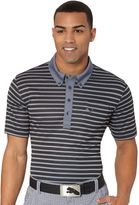 Puma Stripe Pocket Golf Polo Shirt