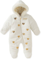 Juicy Couture White & Gold Heart Bunting - Infant