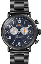 Shinola 47mm Runwell Chronograph Watch, Navy