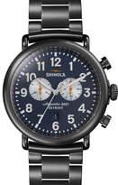 Shinola Men's 47mm Runwell Chronograph Watch, Navy