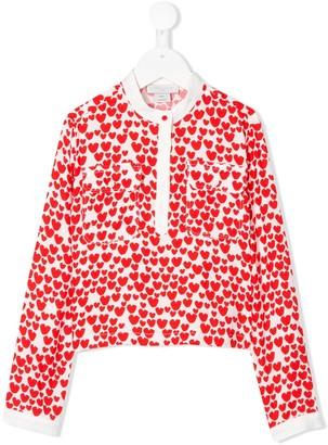 Stella McCartney Kids Hearts print blouse