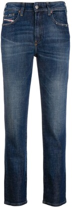 Diesel Slim-Fit Stonewashed Jeans