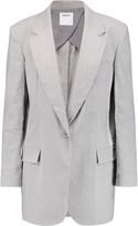 DKNY Linen-blend blazer
