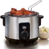 Elite cuisine 5-qt. stainless steel multi-function cooker & deep fryer