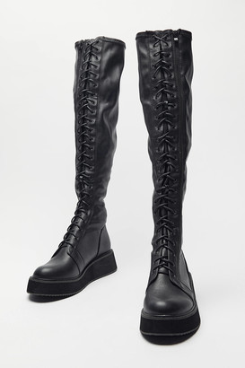 KOI Footwear Blade Tall Lace-Up Boot
