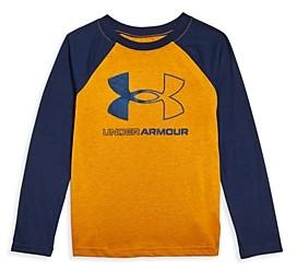 Under Armour Boys' Logo Baseball Shirt - Little Kid