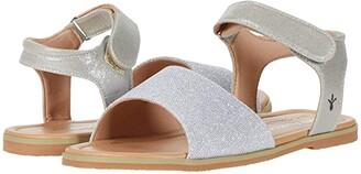 Emu Ainslie (Toddler/Little Kid/Big Kid) (Silver) Girl's Shoes