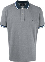 Fay embroidered logo polo shirt - men - Cotton - L