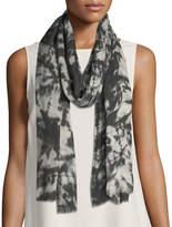 Eileen Fisher Digital Pathways Silk/Wool Scarf