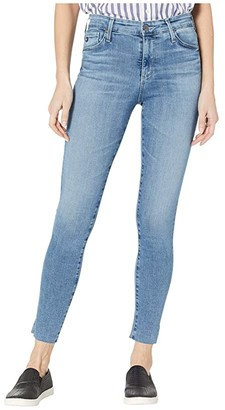 AG Jeans Farrah Skinny Ankle in Mastic (Mastic) Women's Jeans