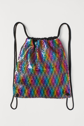 H&M Bag with reversible sequins