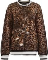 Dolce & Gabbana Leopard-printed Sweatshirt
